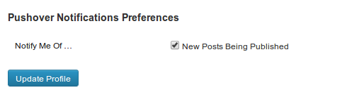 Each user with a Pushover User Key in their Profile will have this option.